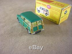 Dinky Toys Morris Mini Traveller Neuve En Boite D'origine N° 197 Rare Couleur