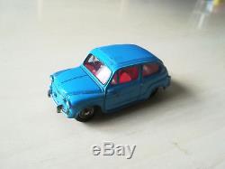 Dinky Toys Poch Fiat 600 Rare Ref 520