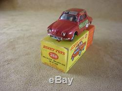 Dinky Toys Renault Dauphine Minicab En Boite Originale N° 268