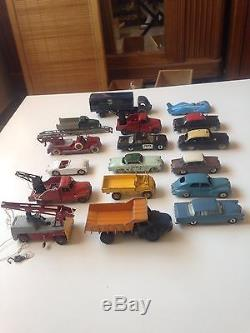 Dinky Toys Très Beau Lot De 17 Véhicules no Copy