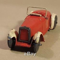 Dinky Toys UK Pre War 22a Open Sports Car Ancien Avant Guerre Années 30