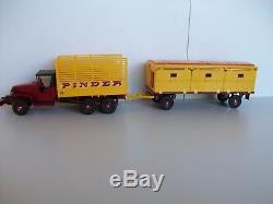 Dinky toys GMC Pinder réf 881