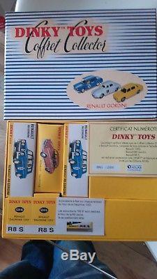 Dinky toys atlas coffret collector gordini numéro 1/2000 unique original