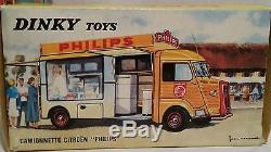 Dinky toys camionnette citroen HY philips N° 587 RARE AAA1960 NO COPIE NO ATLAS