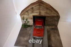 Diorama Grange Film Fast And Furious 1/18 sacle 118 no car 31.5x37x45 cm