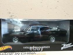 Dodge Charger 1970 Fast and Furious Mattel Hotwheels 118 CMC97