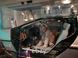 Einstein dog Back to the future échelle 1/8 Custom eaglemoss delorean