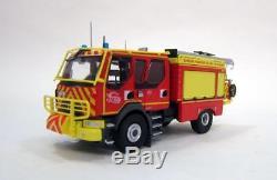 Eligor 115941 RENAULT D14 4x4 CCR GALLIN SDIS 83 pompiers 1/43