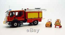 Eligor 115942 RENAULT D14 4x4 CCR GALLIN DECALQUES pompiers 1/43