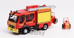 Eligor 115944 RENAULT D12 FPTL GIMAEX BMPM Marins Pompiers Marseille 1/43