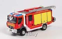 Eligor 116284 RENAULT D16 FPT SR GIMAEX SDIS 16 pompiers 1/43