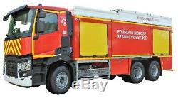 Eligor 116287 Renault C380 P6x4 Pompier FMOGP SDIS 55 1/43