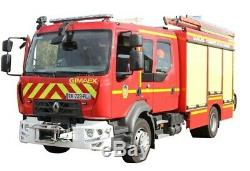 Eligor 116288 Renault D FPTSR Pompier SDIS 72 1/43