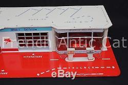 Exceptionnel garage station Mobil DEPREUX voiture 1/43 + boite emballage origine
