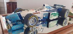 F1 BENETTON formule 1 RENAULT JEAN ALESI 1/8 MINICHAMPS voiture miniature collec