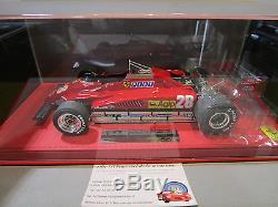 F1 FERRARI 126C2 GP SAN MARINO 1982 PIRONI rouge au 1/18 d BBR P1894AV formule 1