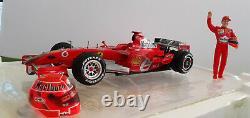 F1 FERRARI 2006 BRAZIL 248F1 SCHUMACHER 1/18 HOT WHEELS J2996 formule 1 Marlbor