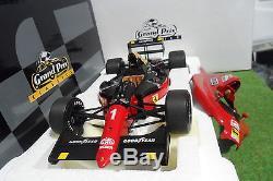 F1 FERRARI 641/2 #1 Winner GP Mexico 1990 Alain Prost 1/18 EXOTO 97101 Formule 1