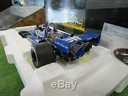 F1 TYRRELL FORD P34 #4 2nd GP SUEDE 1976 DEPAILLER au 1/18 EXOTO 97042 formule 1