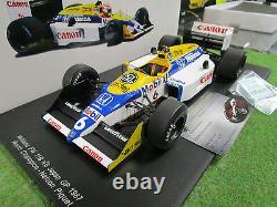 F1 WILLIAMS FW11B # 6 GP JAPON 1987 N. PIQUET 1/18 SPARK 18S118 formule 1 voiture