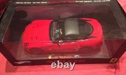 FERRARI 599 GTO Rouge Hot WHEELS Elite 1/18 -T6925 Très Rare 5000 Ex