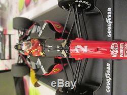 Ferrari 641-2 Gp Portugal 1990 Nigel Mansell Exoto 1/18 Ref 97102 + Boite Vitrin