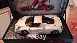 Ferrari Enzo F140 White Fuji Au 1/18 Par Bbr