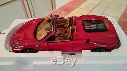 Ferrari F430 Spider Rosso Corsa Chalenge Au 1/18 Par Bbr