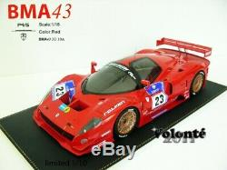 FERRARI P4/5 COMPETIZIONE BMA43 Rouge NO 23 1/18 EME SOLD OUT SUPERBE ET RARE