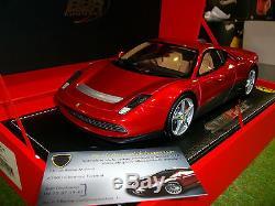 FERRARI SP12 EC coupé 2012 rouge échelle 1/18 BBR P1860-1 voiture miniature