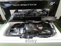 FORD GT #4 LE MANS SPEC II TEST CAR 2005 au 1/18 AUTOART 80514 voiture miniature