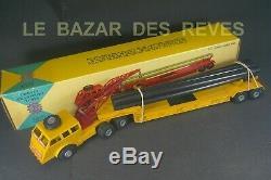 FRANCE JOUETS. Tracteur PACIFIC. Porte tubes. BOURGEY MONTREUIL + Boite