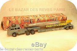 FRANCE JOUET FJ Camion PACIFIC blindé lance fusée + boite