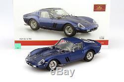 Ferrari 250 GTO Année 1962 bleu 118 CMC