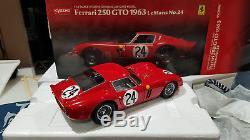 Ferrari 250 GTO Le mans 1963 n° 24 Kyosho 1/18 en boite 08432C