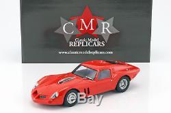 Ferrari 250 GT Drogo Plain Body Version rouge 118 CMR