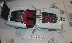 Ferrari 250 testa rossa 1958 pontoon fender cmc avec sa boite