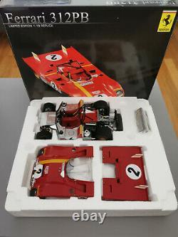 Ferrari 312 PB Winner Daytona 1972 Andretti GMP 1/18