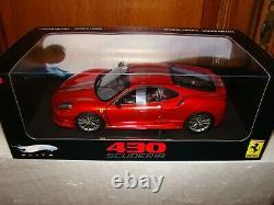 Ferrari 430 Scuderia Elite Red Met. 1/18 Eme Sold Out Limited Edition Rare