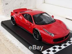 Ferrari 458 Italia LB Performance Liberty Walk GT Spirit 1/18 GT084