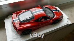 Ferrari 458 Speciale 1/18 Hot Wheels Elite neuve en boite