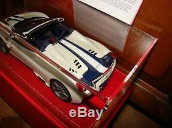 Ferrari 458 Speciale Aperta Mr Collection Fuji Pearl White 1/18 Eme Superbe