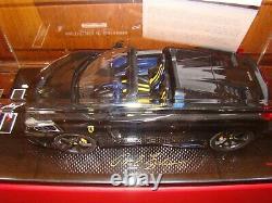 Ferrari 458 Speciale Aperta Mr Collection Noir Daytona Met. 1/18 Eme One Off