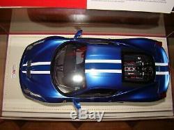 Ferrari 458 Speciale Mr Collection Matt Blue 1/18 Eme Speciale New Ace Rare