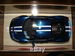 Ferrari 458 Speciale Mr Collection Nart Blue White Stripe 1/18 Eme Tres Rare