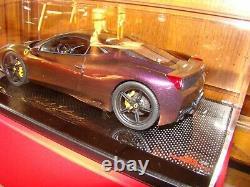 Ferrari 458 Speciale Mr Collection One Off Cameleon Paint 1/18 Eme Tres Rar