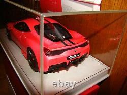 Ferrari 458 Speciale Mr Collection Pink Flasch 1/18 Eme Superbe Et Tres Rare