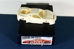 Ferrari 488 Pista Alpha Model KIT 1/24 NEW