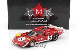 Ferrari 512S #5 24h LeMans 1970 Ickx, Schetty 118 CMR