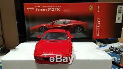 Ferrari 512 TR Kyosho 1/18 en boite NO PAYPAL